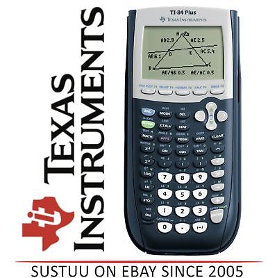 Texas Instruments TI84 PLUS Graphic Calculator with USB Technology 84PLTBL2E7