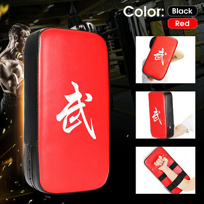 MMA Focus Thai Kick Boxing Training Glove Kungfu Punch Pad Mitt Hand Target Muay