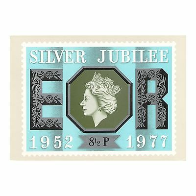 The Silver Jubilee Of The Queen'S Accession 1952-1977, Phq 22 Fdi Stamp Postcard