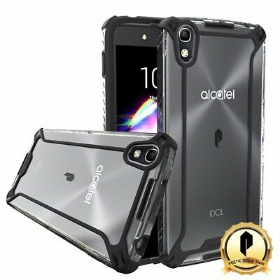 POETIC [Affinity Series] For ALCATEL OneTouch Idol 4 Protective Bumper Case BLK