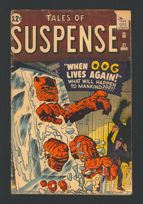 """TALES OF SUSPENSE #27 """"1962"""". Artwork by Steve Ditko and Jack Kirby!"""