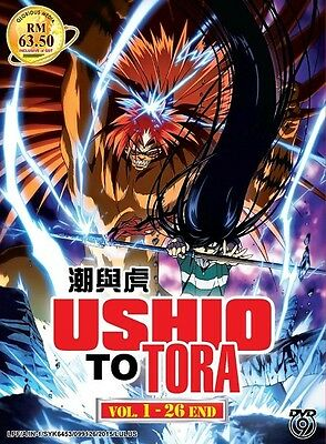 *Billig!* USHIO TO TORA Season 1 | Eps.01-26 | English Subs | 2 DVDs (GM0294)