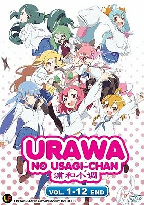 *Billig!* URAWA NO USAGI-CHAN TV | Eps.01-12 | English Subs | 1 DVD (M2210)-LU