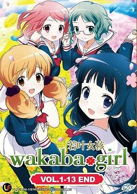 WAKABA GIRL TV | Episodes 01-13 | English Subs | 1 DVD (M2261)-LU