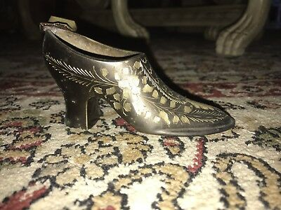 Antique Metal Shoe