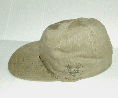 WWII US Army - Air Forces USAAF A3  HBT Mechanics Cap 58 CM