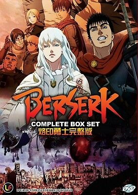 BERSERK New Series | Episodes 01-12 | English Subs | 1 DVD (M2517)-LU