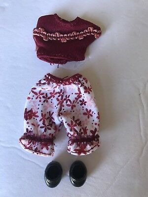Mattel Barbie Happy Family Neighborhood Toddler Outfit & Shoes