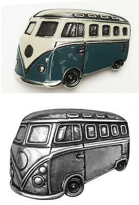 Clasp Buckle Belt-Buckle Bus VW T1 Samba Interchangeable Clasp Buckles