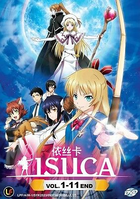 ISUCA | Episodes 01-11 | English Subs | 1 DVD (M2153)-LU