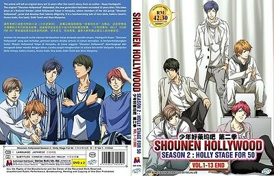 SHONEN HOLLYWOOD Paket | S1+S2 | Eps.01-26 | Subs | 4 DVDs in 2 Sets