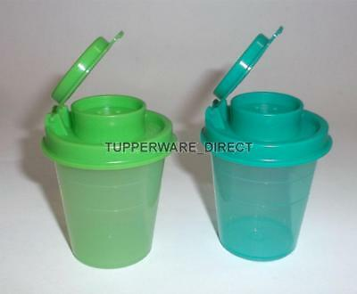 Tupperware Mini Salt and Pepper Shaker - midget- 2 ozs