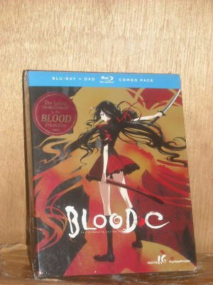 Blood-C: The Complete Series (Blu-ray/DVD, 2013, 4-Disc Set, DVD/Blu-ray) anime