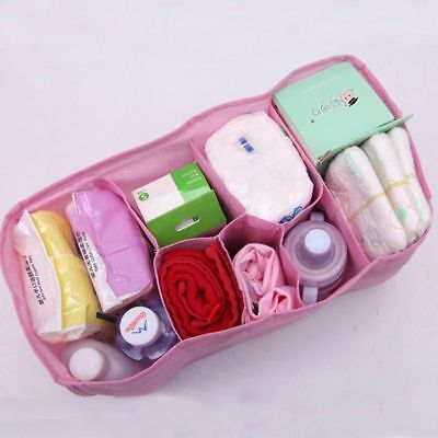 Baby Changing Divider Diaper Nappy Organizer Bag Storage Inner Liner In Bag