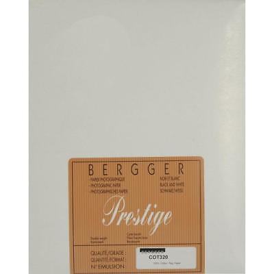 "Bergger COT320 100% Cotton Uncoated Fine Art Paper, 16x20"", 25 Sheets #2000522"