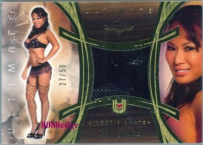 2010 Benchwarmer Ultimate Lingerie Card: Flo Jalin #27/50 Swatch
