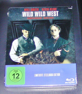 Wild Wild West With Will Smith Limited Steelbook Edition Blu Ray New & Vintage