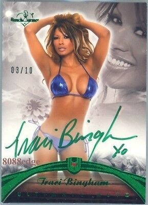 2010 Benchwarmer Ultimate Auto:traci Bingham #3/10 Autograph Baywatch/Playboy