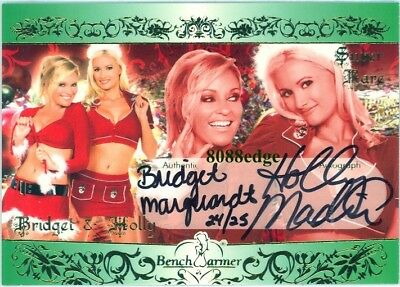 Benchwarmer Auto:bridget Marquardt/Holly Madison #24/25 Dual Autograph