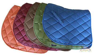 HORSE SADDLE PAD, NUMNAH, CLOTH. FULL SIZE. Luxury Quilted and Padded. FREE POST