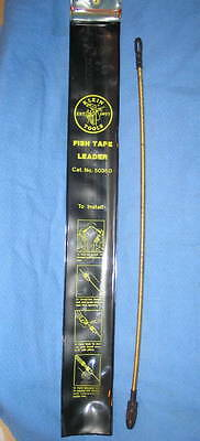 """Klein Tools Flexible Fish Tape Leader #50350 13"""" (330 mm) - USA NEW"""