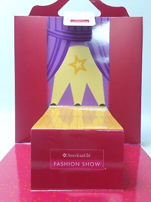New AMERICAN GIRL Fashion Show Paper Doll Play Set #F7307-NF1A