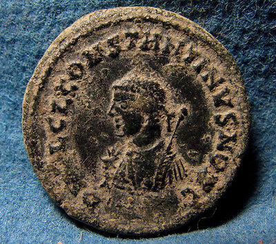 Ancient Roman Imperial coin of CONSTANTINE II. As Caesar, AD 316-337. Æ3.