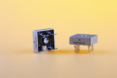 2PCS KBPC5010 50A 1000V Metal Case Single Phases Diode Bridge Rectifier USA
