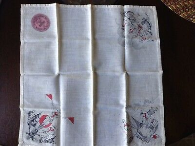 Very OLD Boy Scout Handkerchief - Scarf