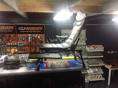 Middy MX-100 Pole/Feeder Recliner Chair Full Package Fishing
