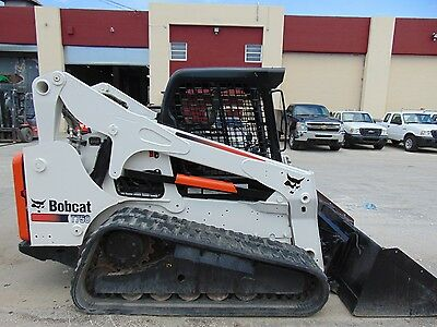 2012 Bobcat T-750 Turbo Big 85 Hp Skid Steer Track Loader