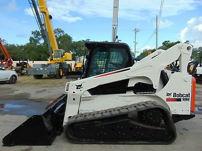 2012 Bobcat T-870 Turbo 2 Speed - High Flow - Air Conditioned - Scpa Controls