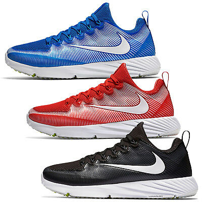 New Nike Vapor Speed Turf Mens Football Shoes Cleats Trainers : Red Blue Black