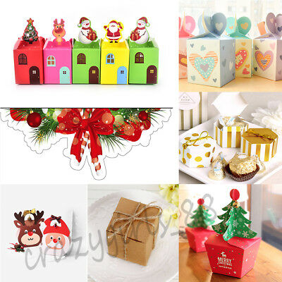 Christmas Eve Apple Candy Packing Box Wedding Party Xmas Gift Bags Supply New
