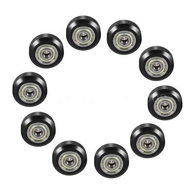 10/20PCS Pack Large Model Passive Round Wheel Pulley+Bearing 10.23mm Thickness