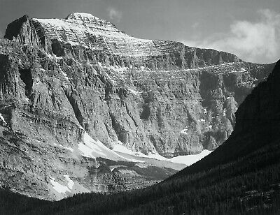 GLACIER NATIONAL PARK, MONTANA Ansel Adams Fine Art Giclee Reproduction 18.5x24