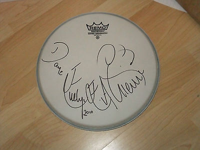 Dame Evelyn Glennie Signed Drumhead