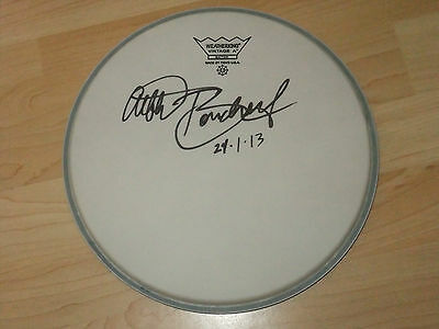 Albert Bouchard Blue Oyster Cult Signed Drumhead