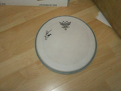 Jeremy Stacey Aztec Camera,joe Cocker Signed Drumhead