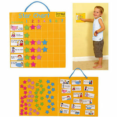 Magnetic Star Reward Chart Good Behaviour Fiesta Crafts