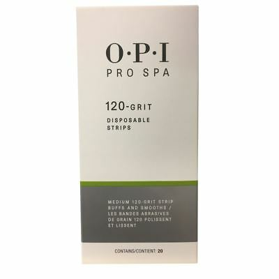 OPI PRO SPA 120-grit Disposable Strips (20 pack) Boxed