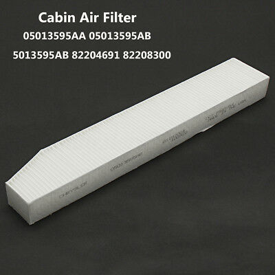 White Cabin Air Filter For Jeep Grand Cherokee 1999-2010 OE 5013595AB 05013595AB