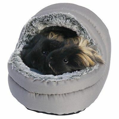 NEW! Rosewood Snuggles Two-Way Hooded Bed Small Animals Guinea Pigs Ferrets Rats
