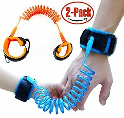 SEMSO Anti Lost Wrist Link Child Safety Harness Leashes Strap Rope for Baby Kids
