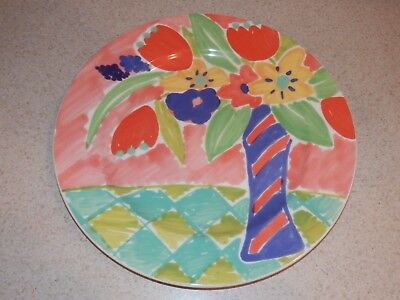 """Villeroy And Boch China Madame Dinner Plate 10 1/2"""" Excellent!"""