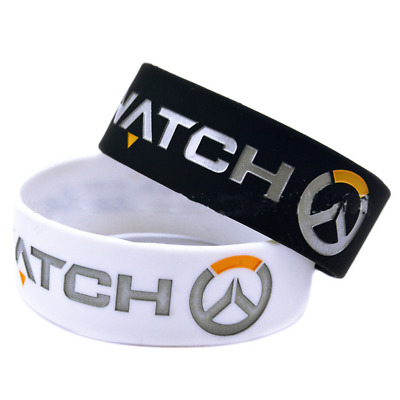 OverWatch OW game Silicone Rubber Wristband bracelet jewelry new 1pcs