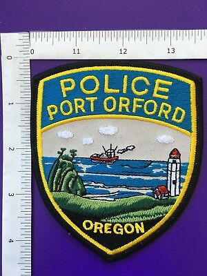 Port Orford Oregon  Police  Shoulder Patch