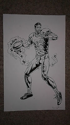 Aaron Rodgers Nfl- Artwork For Licenced T-Shirt And Wall Decal - One Of A Kind