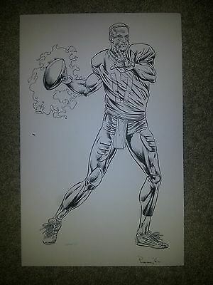 Philip Rivers - Artwork For Nfl Player Licenced Merchandise