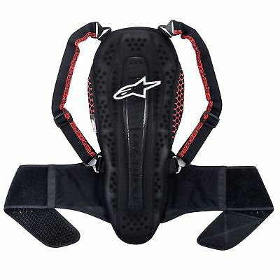 Alpinestars Bike Nucleon KR-2 Back Protector Black Smoke / Red - 6504615-1113